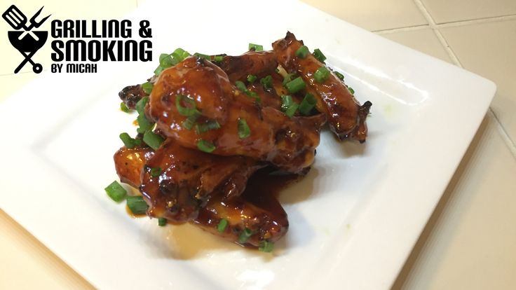 Nice Wings Wednesday - General Tso Wings #wow #video  #pic #photo