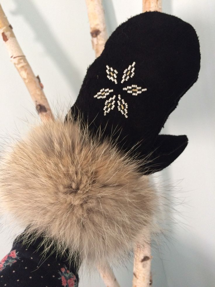 A personal favorite from my Etsy shop https://www.etsy.com/ca/listing/482534317/custom-mittens-native-american-metis