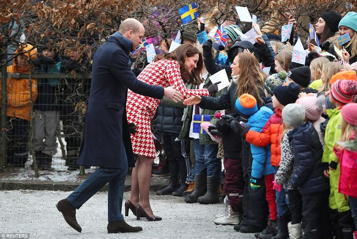 As the couple spoke to youngsters, one teenager, more in hope than expectation, quizzed the Duchess about her taste in rap music: 'I asked her if she knew J Hus,' said Lucas Tinseau, 15. 'She said 'I will look out for him'