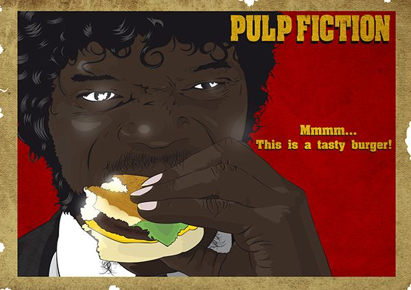 Pulp Fiction  LIMITED EDITION in 2019  cinema  Kino