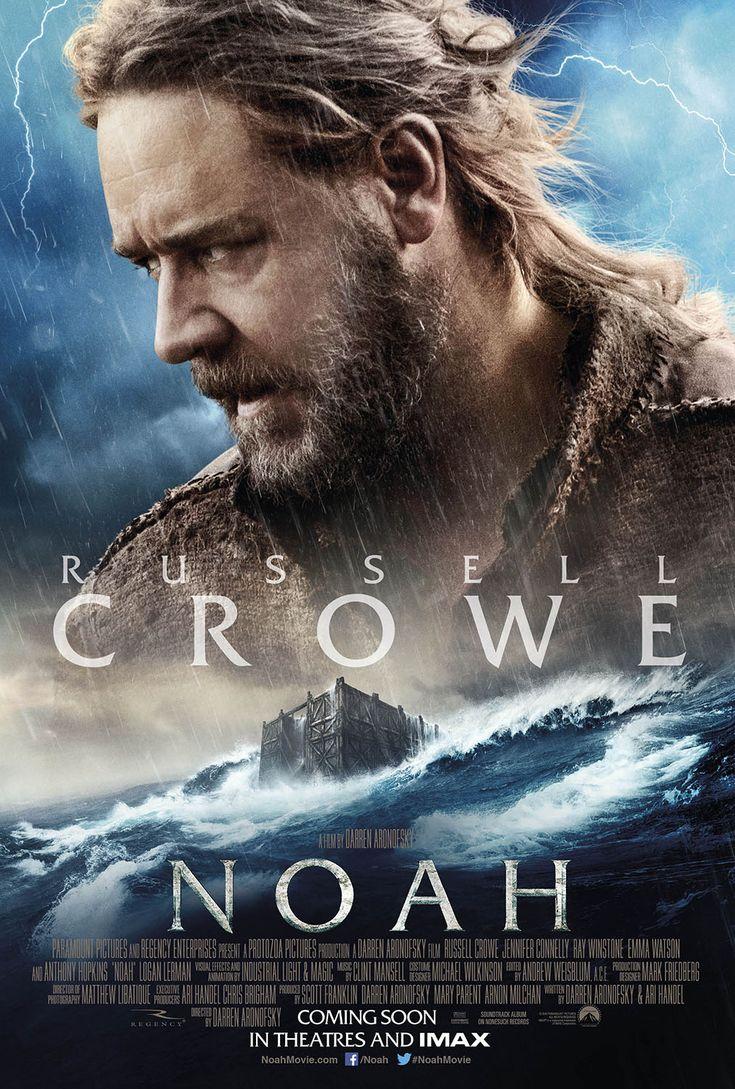 Russell Crowe is Noah