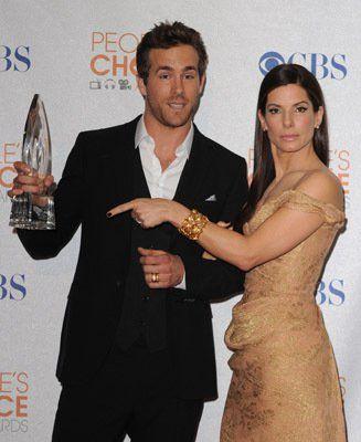 Both! Sandra Bullock and Ryan Reynolds my 2 favorite people