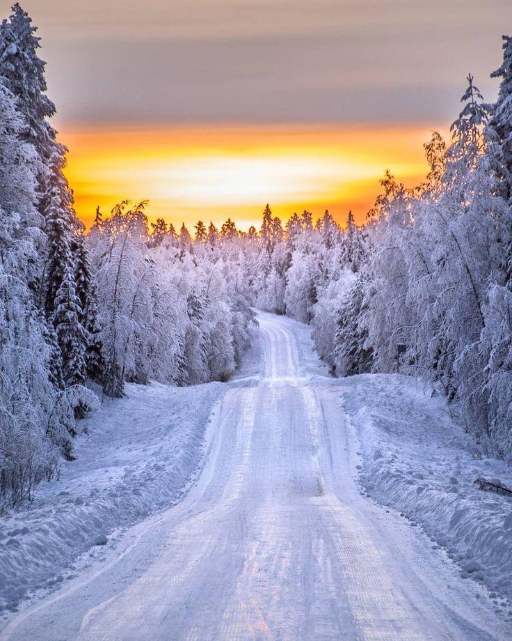 пейзаж картинки природа зима его делают