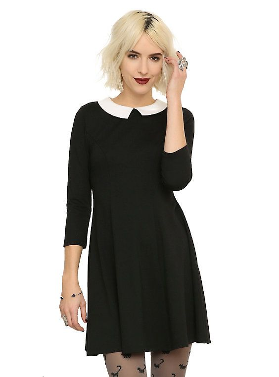 I literally have this dress but shorter sleeves from the 90s I used to wear in high school!