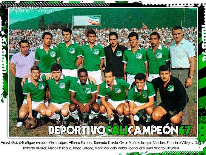 Deportivo Cali 100 Años - Campeon 1967