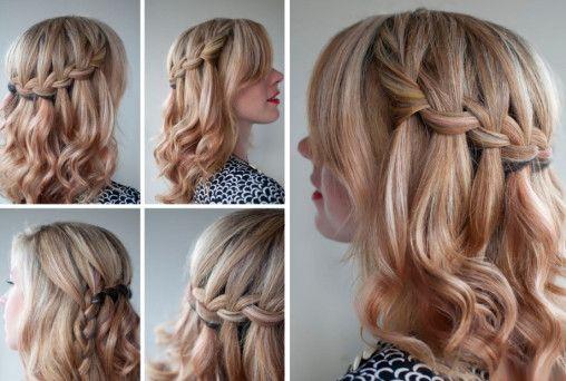 Плетение кос на длинных волосах
