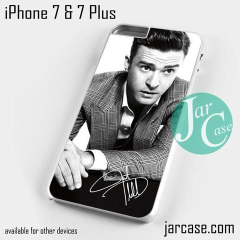 Justin Timberlake Vintage Photo Phone case for iPhone 7 and 7 Plus