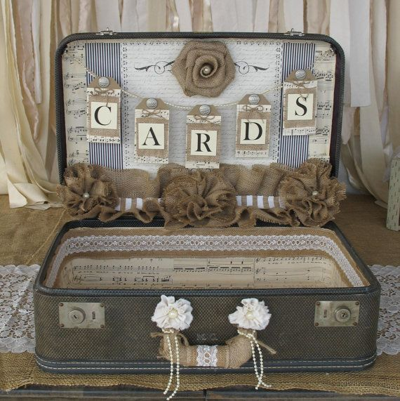 The 25  best Vintage suitcase wedding ideas on Pinterest | Wedding ...