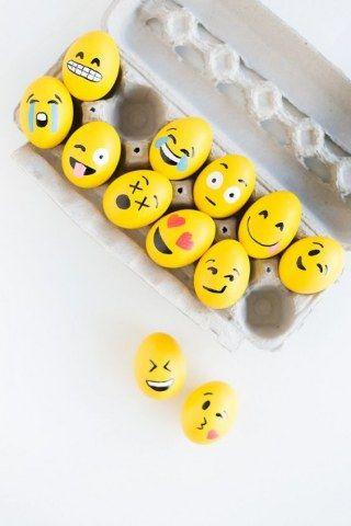 Des oeufs de Pâques émojis pour les accros aux réseaux sociaux