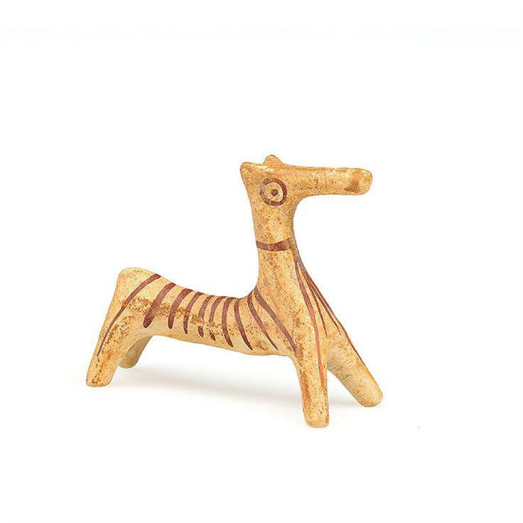 Miniature ceramic deer in elegant custom-made paper box