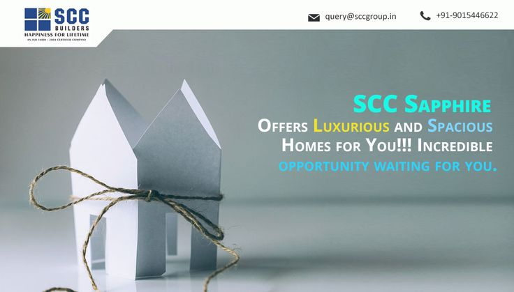 SCC Sapphire Offers Luxurious and Spacious Homes for You!!! Incredible opportunity waiting for you.