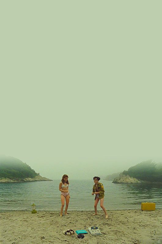 "Suzy - ""I've always wanted to be an orphan. Most of my favorite characters are. I think your lives are more special."".....................Sam - ""I love you, but you don't know what you're talking about.""....................Suzy - ""I love you too."" (Moonrise Kingdom)"
