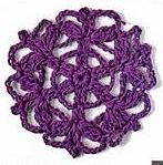 Patrón #1262: Granny a Crochet | CTejidas [Crochet y Dos Agujas]