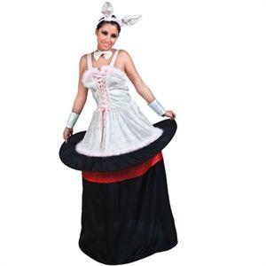 Klæd dig ud med denne kostume, kanin i en hat :-) #kostume #temafest