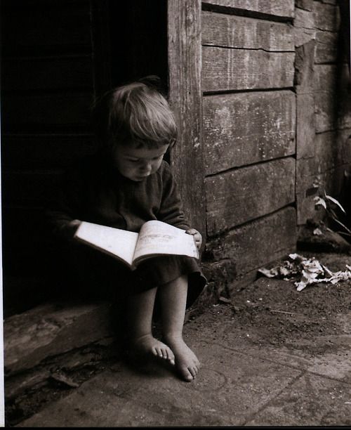 I just like this picture of a little boy reading. Ahh the power of a book!