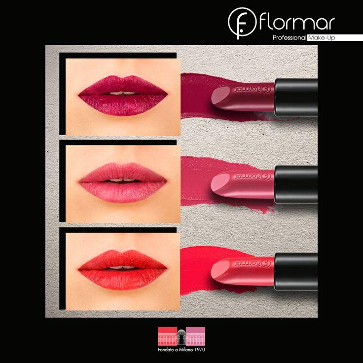 Vino, rosa, rojo. ¿Cuál es el Revolution Perfect Lipstick perfecto para tu look de hoy?