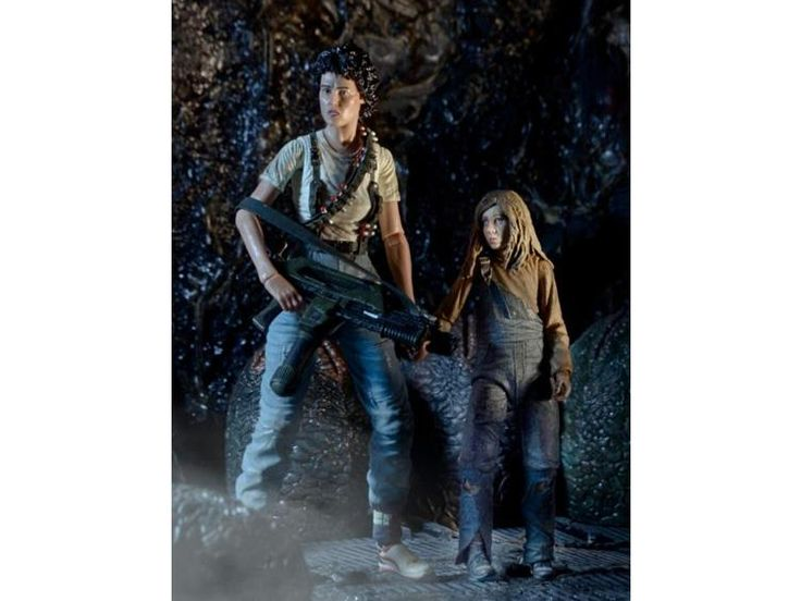 """Aliens 30th Anniversary 7"""" Deluxe Action Figure Two Pack - Rescuing Newt - Alien…"""