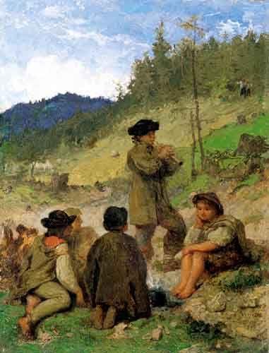 Wojciech Gerson - Highlander's Children, 1881