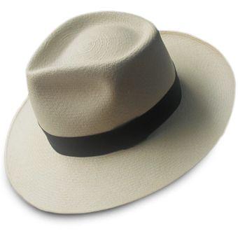 Chapeau Panama Montecristi - Diamond pour Homme (Qualite 11-12 Superfino)