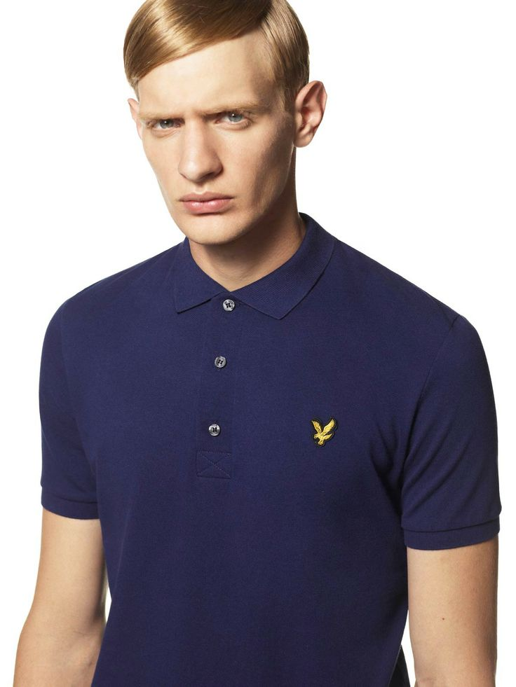 SS14 Lyle  Scott 1960 polo shirt - http://lyle.ly/1igYuSX