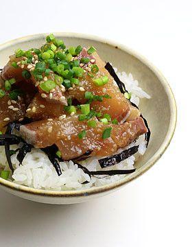 余ったお刺身を活用!ごまぶり醤油漬け丼 by コストコ通コス子 ...