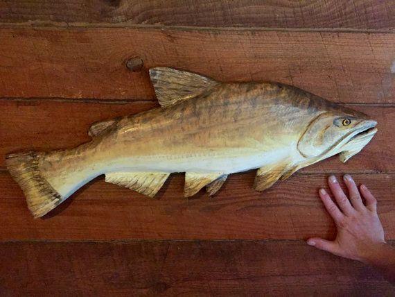 Bagre cabeza plana para madera escultura 31 por oceanarts10 en Etsy