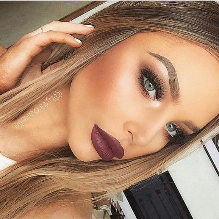 Gorgeous look by @bybrookelle!!!