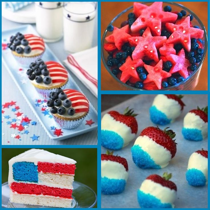 Fourth of July: 4th of July Food Ideas. There are so many adorable 4th of July food ideas, I almost don't even know where to start!! 4th of July foods are bright and fun,