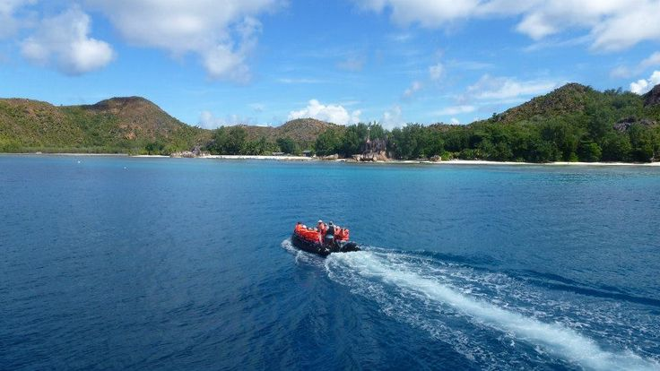"""To Curieuse island"" for #scuba diving! #VarietyCruises"