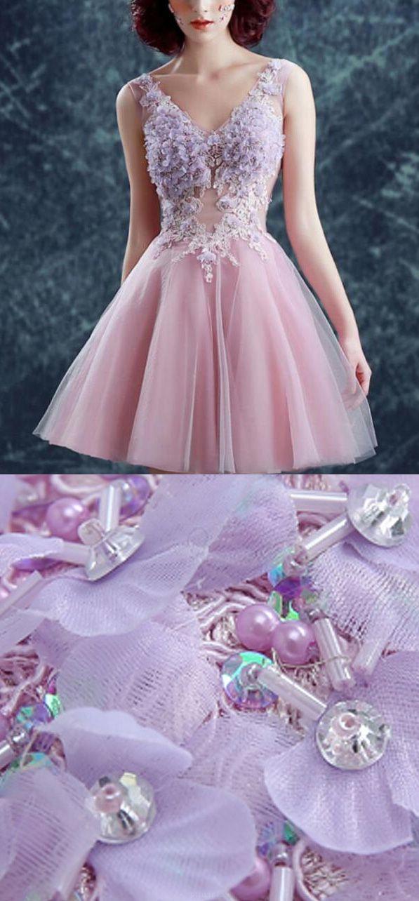 Short Princess Homecoming Dresses