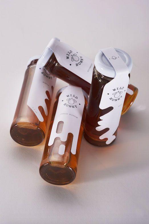 Wild Honey: Honey Packaging on Packaging Design Served