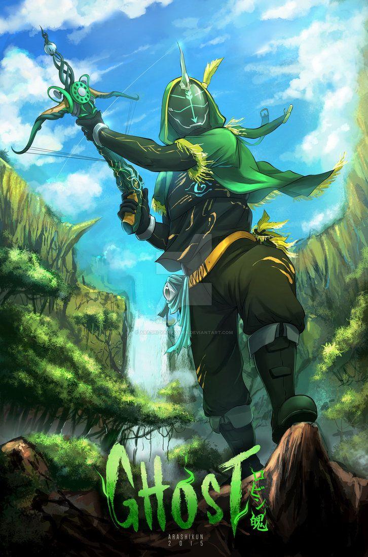 kamen rider ghost robin hood tamashii fanart.. Masked