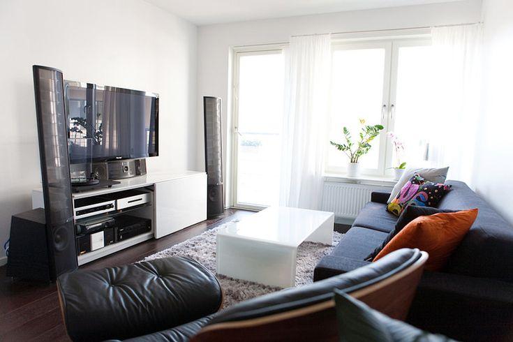 40 Contemporary Living Room Interior Designs #contemporary #living room #interior design #tv wall units