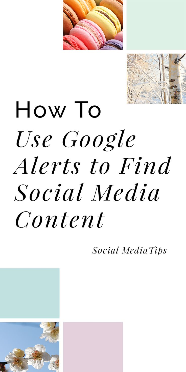 How to Create Google Alerts to Help you Generate Curated Social Media Content Google Alerts | Social Media | Social Media 101 | How to find social media content | Marketing #SocialMedia via @VireoMedia