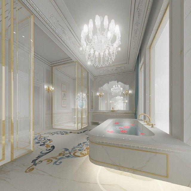 Master Bathroom Design - Dubai - UAE