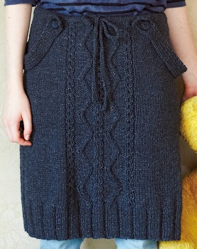 two way knitted skirt