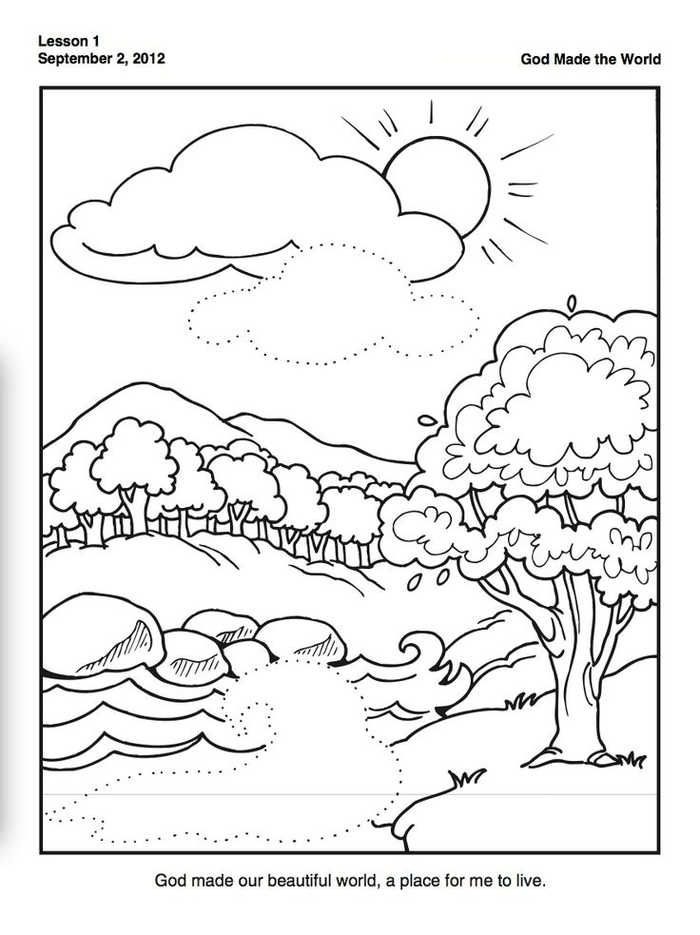 Creation Coloring Pages For Preschoolers Creation Coloring Pages Bible Coloring Pages Sunday School Coloring Pages