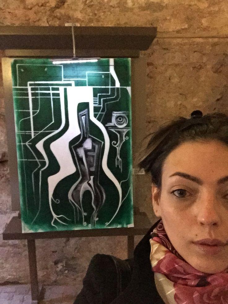 Woman in Capsule