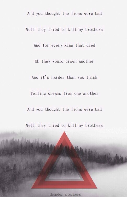 bastille oblivion words