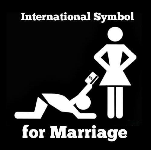 International symbol for marriage ;)