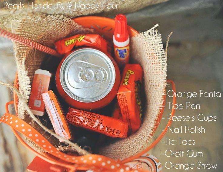 Orange You Glad Gift Bucket
