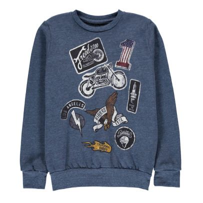 Californian Vintage Moto Sweatshirt-listing