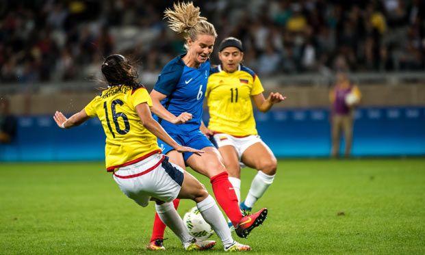 Equipes de France - JO : festival offensif face à la Colombie - FFF