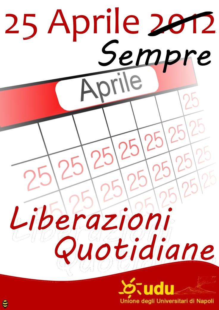"""25 aprile """"festa della liberazione"""""""