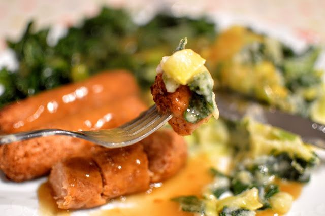 Celebrate St Patricks Day with this vegan version of the traditional Irish Dish, Sausages and Colcannon.