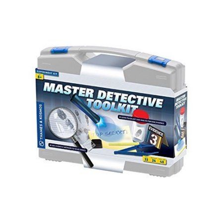 Thames & Kosmos Master Detective Toolkit Science Experiment Kit, Multicolor