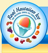 Real Hawaiian Ice - Logo