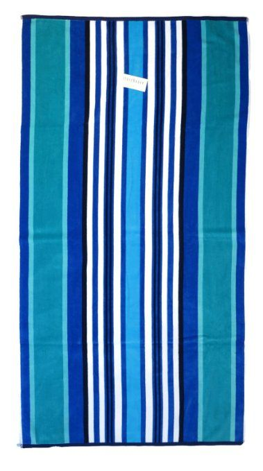 beach towel oversized storehouse extra large x beach stripes in shades of blue - Large Beach Towels