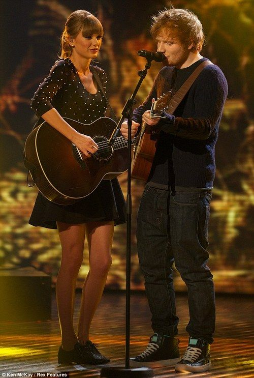 ed sheeran and taylor swift - photo #10