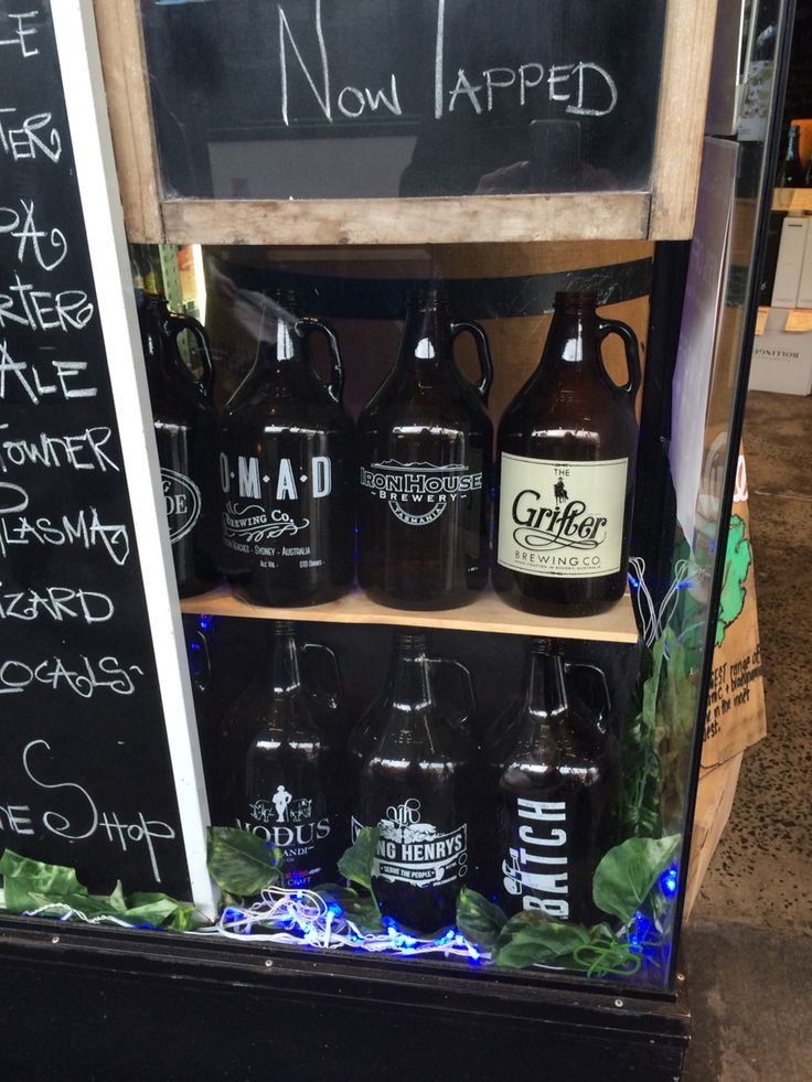 Craft Beer Growlers